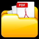 128x128px size png icon of My Adobe PDF Files