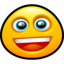 128x128px size png icon of Smiley Grin