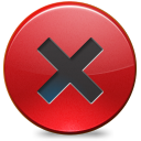 128x128px size png icon of Close