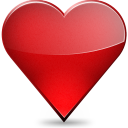128x128px size png icon of Favourites
