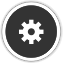 128x128px size png icon of application default