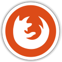 128x128px size png icon of firefox