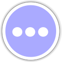 128x128px size png icon of internet chat
