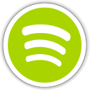 128x128px size png icon of spotify client