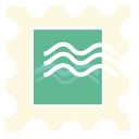 128x128px size png icon of stamp