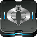 128x128px size png icon of cobra command