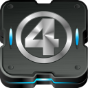 128x128px size png icon of fantastic 4