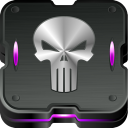 128x128px size png icon of punisher