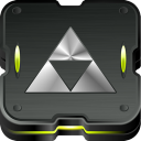 128x128px size png icon of zelda triforce