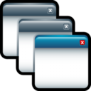 128x128px size png icon of Applications Cascade