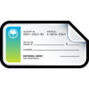 128x128px size png icon of Bank Check