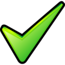 128x128px size png icon of Ok