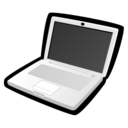 128x128px size png icon of MacBook