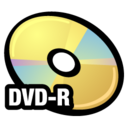 128x128px size png icon of DVD R