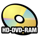 128x128px size png icon of HD DVD RAM