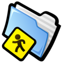 128x128px size png icon of Public Folder