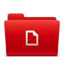 128x128px size png icon of Folder Docs