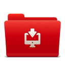 128x128px size png icon of Folder Downloads