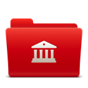 128x128px size png icon of Folder Libraries