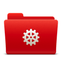 128x128px size png icon of Folder Settings