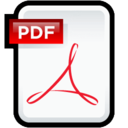 128x128px size png icon of Adobe PDF Document