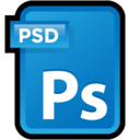 128x128px size png icon of Adobe Photoshop CS3 Document