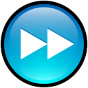128x128px size png icon of Button Forward
