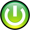 128x128px size png icon of Button Turn On