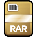 128x128px size png icon of Compressed File RAR