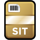128x128px size png icon of Compressed File SIT