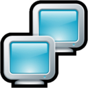 128x128px size png icon of Computer Network