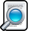 128x128px size png icon of Document Preview