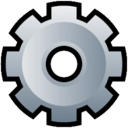 128x128px size png icon of Gear
