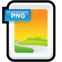 128x128px size png icon of Image PNG