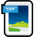 128x128px size png icon of Image TIFF