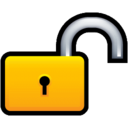 128x128px size png icon of Lock Unlock