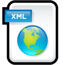 128x128px size png icon of Web XML