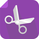 128x128px size png icon of cut