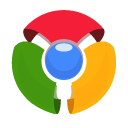 128x128px size png icon of Chrome Old