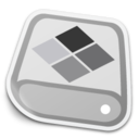 128x128px size png icon of BootCamp Drive