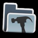 128x128px size png icon of Dev Folder