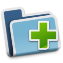 128x128px size png icon of New Folder