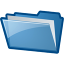 128x128px size png icon of FolderFilled
