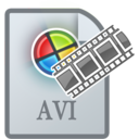 128x128px size png icon of MovieTypeAVI