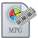 128x128px size png icon of MovieTypeMPG