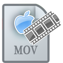 128x128px size png icon of MovieTypeMOV