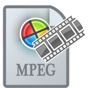 128x128px size png icon of MovieTypeMPEG