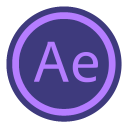 128x128px size png icon of App Adobe After Effect