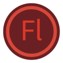 128x128px size png icon of App Adobe Flash