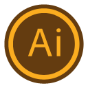 128x128px size png icon of App Adobe Illustrator